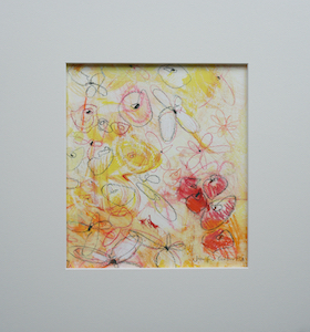 "<b>#1 - Unframed Flower Series  – Matted Size 14"" x 15"" (3"" mat) - $250</b><br/>Image Size 8"" x 9""<br/>Unframed<br/><br/>"