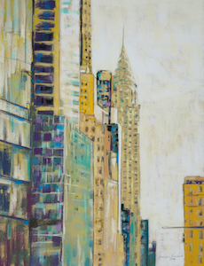 <b>Afternoon Light, Chrysler Building</b><br/>18 x 24<br/><br/>