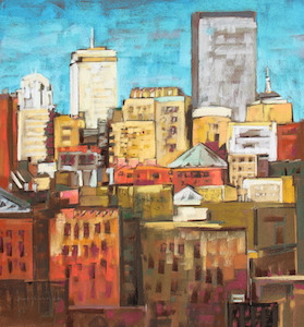 <b>Afternoon Light, New York City 2</b><br/>20 x 22<br/><br/>