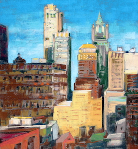 <b>Afternoon Light, New York City</b><br/>20 x 22<br/><br/>