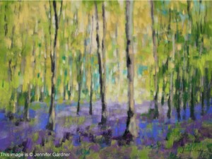 <b>Bluebell Woods</b><br/>24 x 18<br/>Sold<br/>