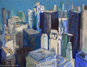 <b>City Light II</b><br/>30 x 22<br/>Sold<br/>