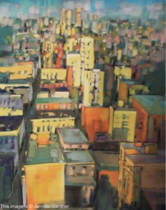 <b>City Color III</b><br/>18 x 24<br/>Sold<br/>