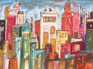 <b>City Color IX</b><br/>30 x 22<br/><br/>
