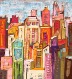 <b>City Color VIII</b><br/>22 x 20<br/><br/>
