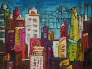 <b>City Color XI</b><br/>30 x 22<br/><br/>