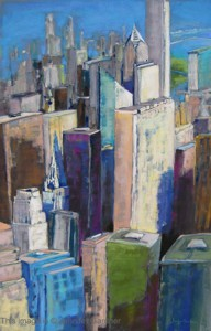 <b>City Light</b><br/>18 x 30<br/>Sold<br/>