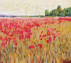 <b>Countryside Poppies 6</b><br/>20 x 18<br/><br/>