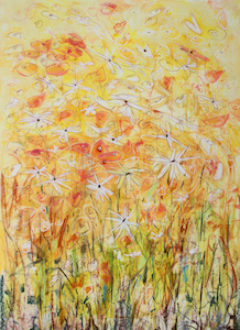 <b>Daisy Chain 11</b><br/>22 x 30<br/>Sold<br/>
