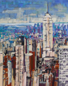 <b>Empire State II</b><br/>24 x 18<br/>Sold<br/>