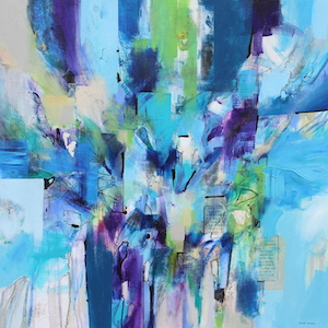 <b>Flow Blue 7 (Acrylic)</b><br/>36 x 36<br/><br/>