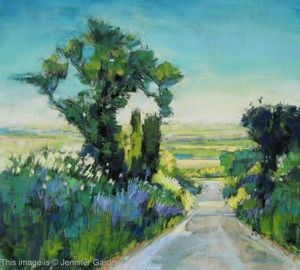 <b>Hedgerow</b><br/>17 x 19<br/>Sold<br/>