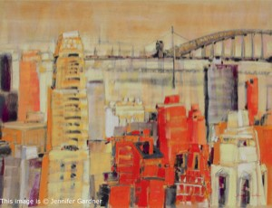 <b>Manhattan</b><br/>24 x 18<br/>Sold<br/>