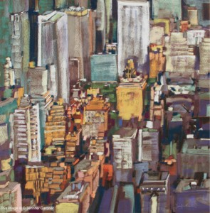 <b>Midtown Manhattan III</b><br/>22 x 22<br/>Sold<br/>