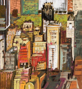 <b>Midtown Manhattan IX</b><br/>20 x 22<br/>Sold<br/>