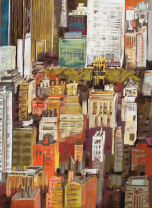 <b>Midtown Manhattan VII</b><br/>22 x 30<br/>Sold<br/>
