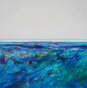 <b>Ocean with Horizon 1 (Acrylic)</b><br/>36 x 36<br/><br/>