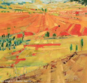 <b>Patchwork Hills</b><br/>19 x 17<br/>Sold<br/>
