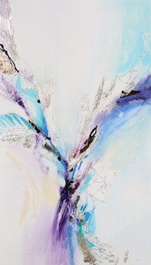 <b>Purple and Blues 1</b><br/>16 x 28<br/><br/>