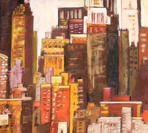 <b>Skyline, New York City 7</b><br/>22 x 20<br/><br/>