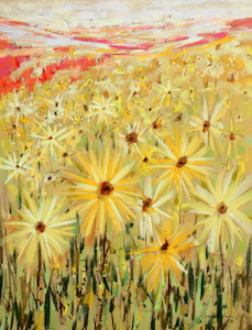 <b>Spanish Sunflowers VII</b><br/>18 x 24<br/><br/>
