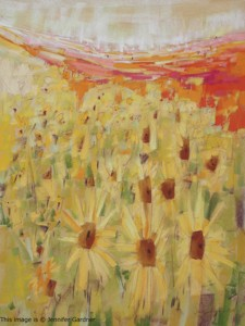 <b>Spanish Sunflowers</b><br/>18 x 24<br/>Sold<br/>
