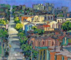 <b>Sun in the City</b><br/>24 x 22.5<br/>Sold<br/>