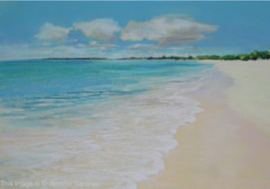 <b>Turks and Caicos</b><br/>22 x 16<br/>Sold<br/>