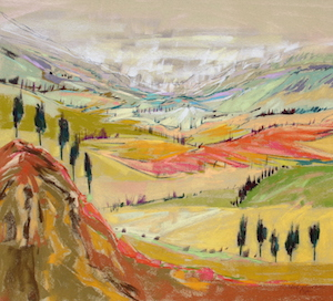 <b>Tuscan Countryside 3</b><br/>20 x 18<br/><br/>