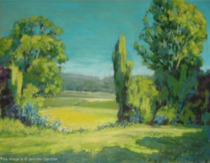 <b>View through the Trees II</b><br/>24 x 18<br/><br/>